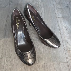 Cole Haan Snakeskin Leather Shoes 7.5